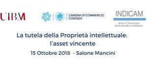 la tutela della proprietà intellettuale. l'asset vincente_15 ottobre 2018_h. 14.00